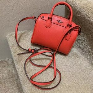 Coach F24627 MINI BENNETT SATCHEL NWT